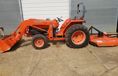 2006 Used L4400 W Mower
