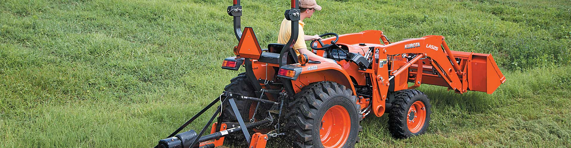 Finance Your New Kubota