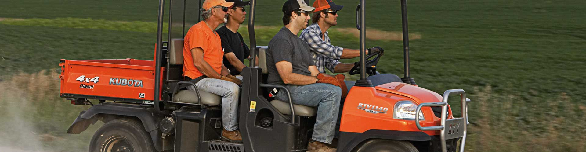 Build Your Kubota RTVX