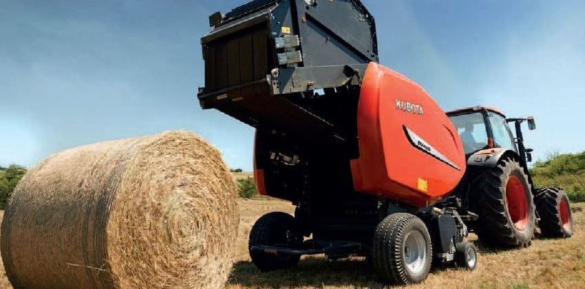Introducing the Kubota BV-4160 Premium baler