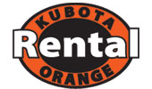 Kubota Rental Orange