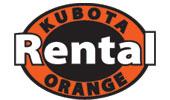 Kubota Rental Orange