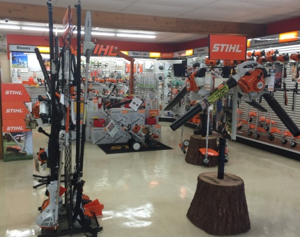 Rucker Stihl Showroom