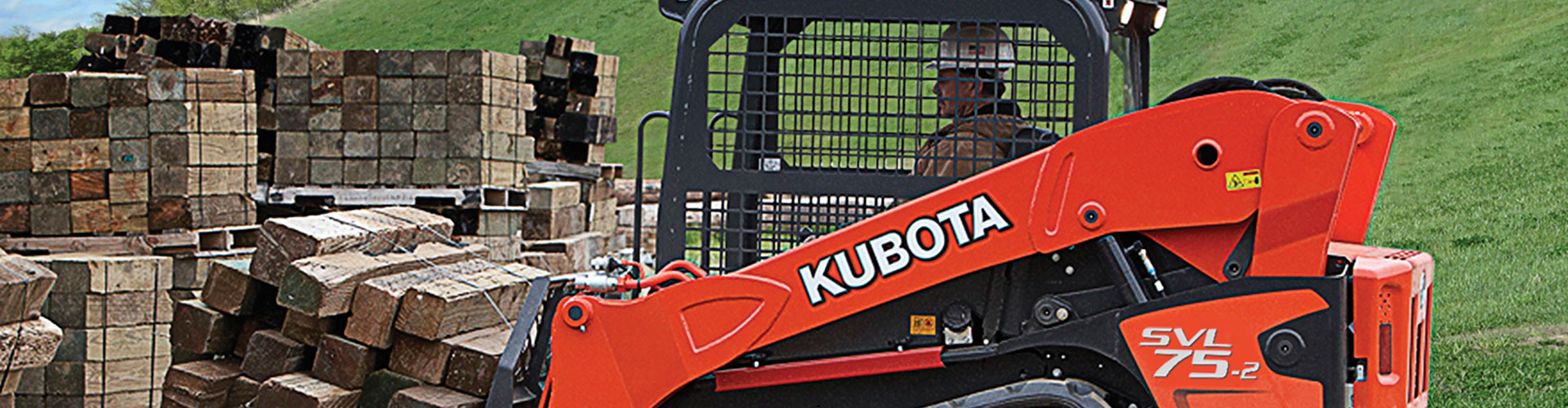 Rucker Equipment now stocks Kubota construction equipment