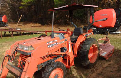 Used 2000 Kubota L2600