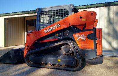 used 2001 kubota svl 75