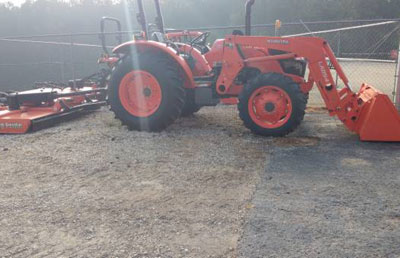 Used 2016 Kubota M6060hd With Cutter