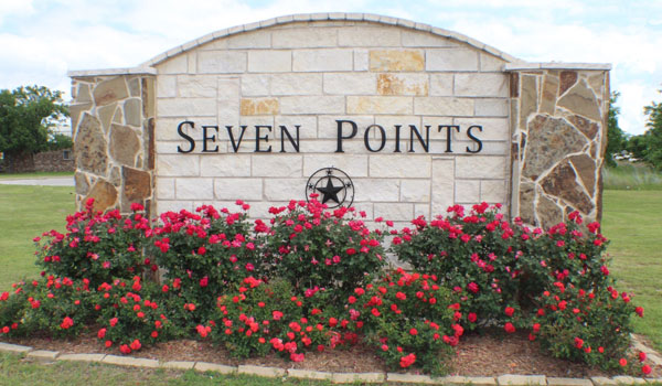 Panel Seven Points Sign