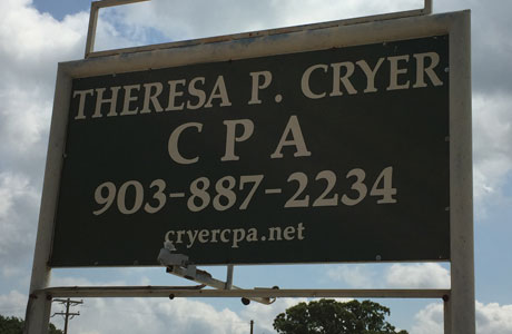 Home | Theresa P Cryer CPA | Accountant in Gun Barrel City, TX