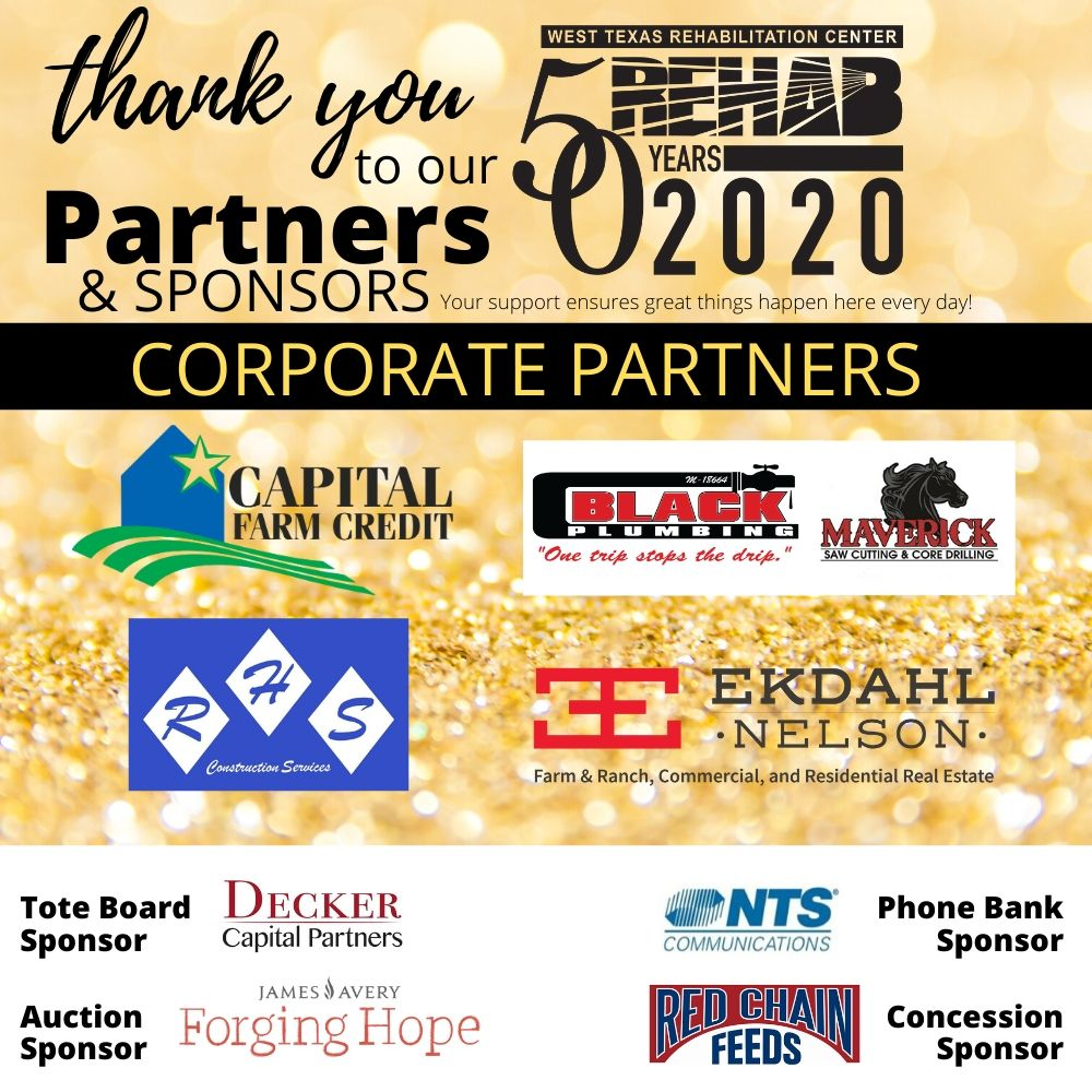2020 Partners And Sponsors