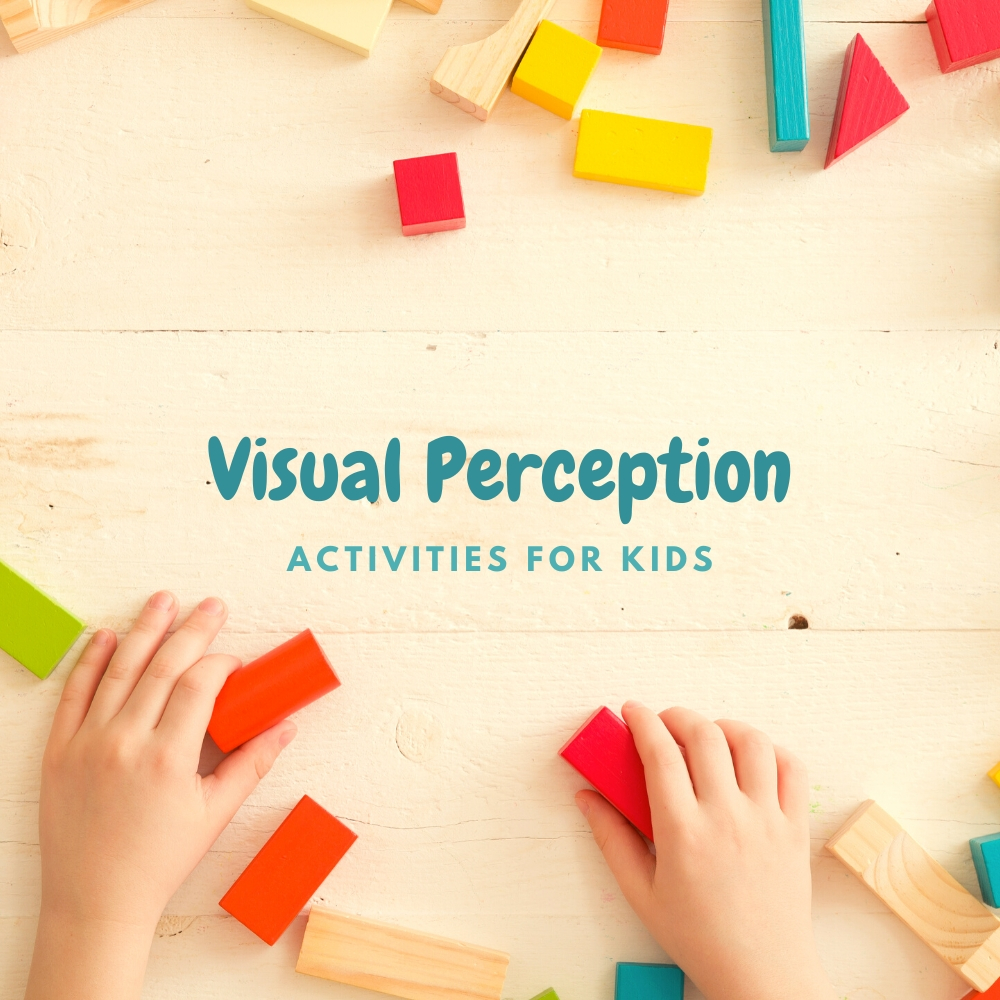 Visual Perception Activities with Kids
