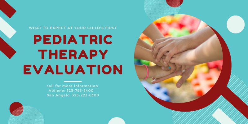 What to Expect at your Child's First Pediatric Therapy Evaluation