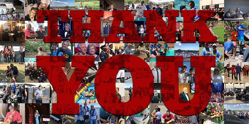 Thank You WTRC Volunteers