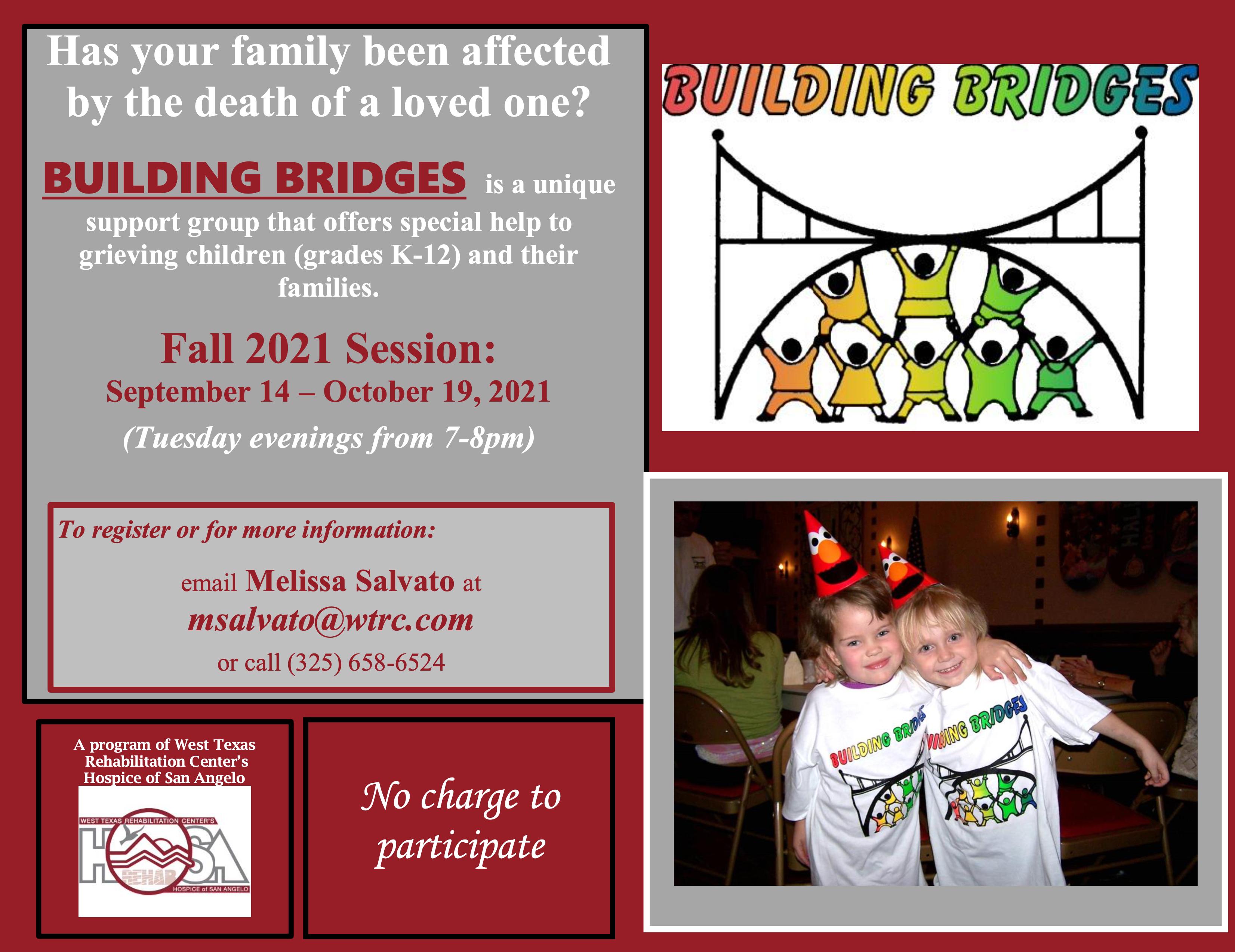 Building Bridges Fall 2021 Image