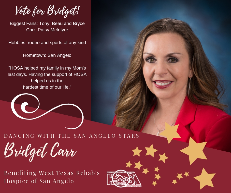 Dwsas   Bridgett Carr Dancing With The San Angelo Stars