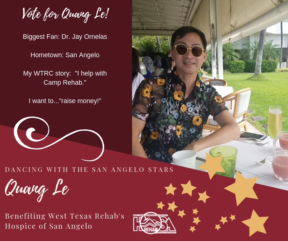 Dwsas   Quang Le Dancing With The San Angelo Stars