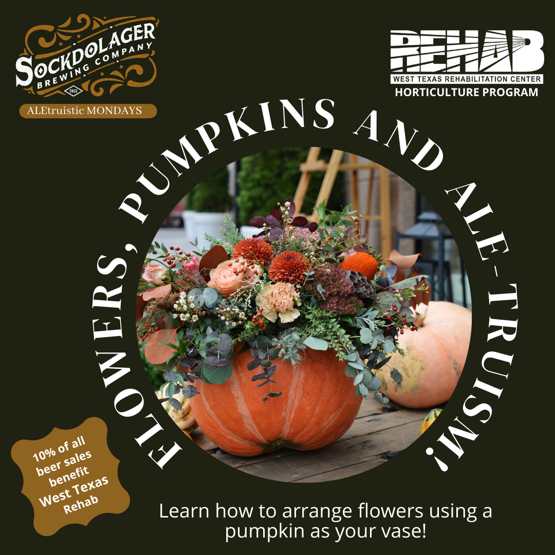 Flowers, Pumpkins & ALE-truism!