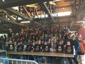 El departamento de música de BCHS barrió los premios en el festival de música WorldStrides Heritage