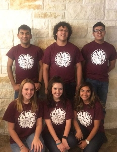 Six delegates from Bay City High School joined