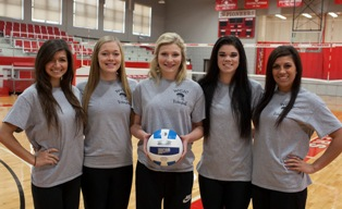 WCJC volleyball players make Region XIV All-Conference teams