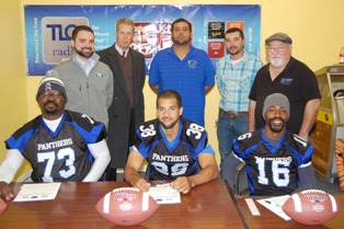Tidehaven, Bay City players sign with Wharton County Panthers