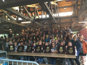 BCHS music department swept the awards at the WorldStrides Heritage music festival
